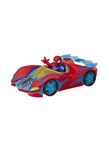 Hasbro Marvel Super Hero Adventures Mega Mini Figür ve Araç Renkli